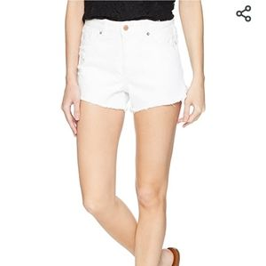 NEW DL1961 Cleo High Rise White Shorts